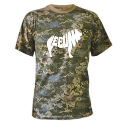 Купити Камуфляжна футболка Лев 2