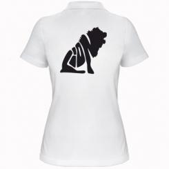 Купити Жіноча футболка поло Лев
