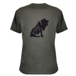 Купити Камуфляжна футболка Лев