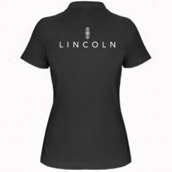 Купити Жіноча футболка поло Lincoln logo