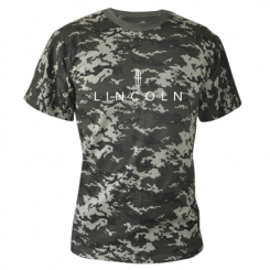 Купити Камуфляжна футболка Lincoln logo