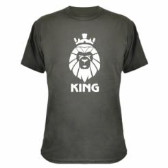 Камуфляжна футболка Lion King