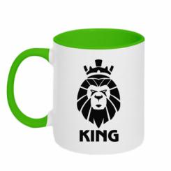 Кружка двокольорова Lion King