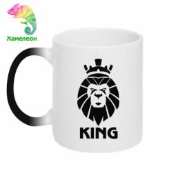 Кружка-хамелеон Lion King
