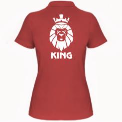 Жіноча футболка поло Lion King