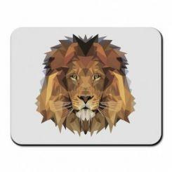 Килимок для миші Lion Poly Art