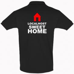 Футболка Поло Localhost Sweet Home
