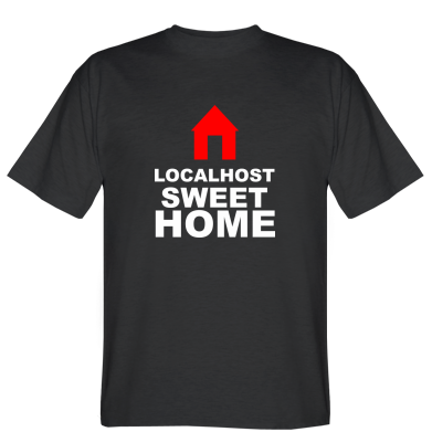 Футболка Localhost Sweet Home