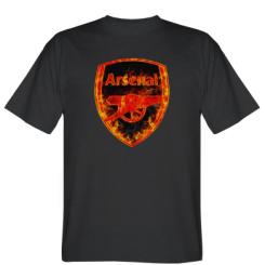 "Футболка Логотип Арсенал ""Розпечений метал"""