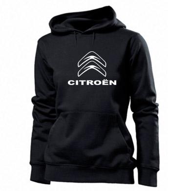 Купити Толстовка жіноча Логотип Citroen