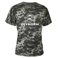 Купити Камуфляжна футболка Логотип Citroen