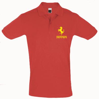 Купити Футболка Поло логотип Ferrari