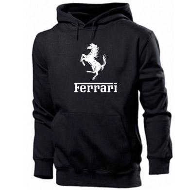 Купити Толстовка логотип Ferrari