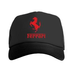Купити Кепка-тракер логотип Ferrari