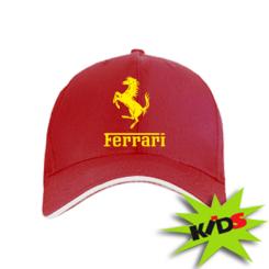 Купити Дитяча кепка логотип Ferrari
