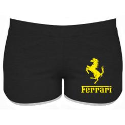 Купити Жіночі шорти логотип Ferrari