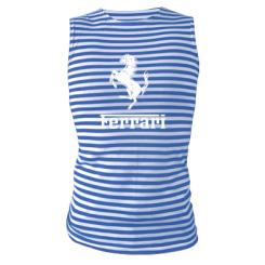 Купити Майка-тільняшка логотип Ferrari