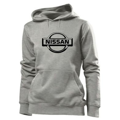 Купити Толстовка жіноча логотип Nissan