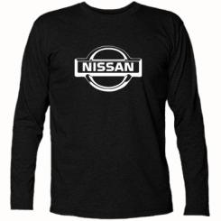 Купити Футболка з довгим рукавом логотип Nissan
