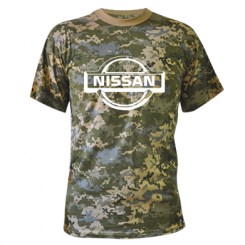 Купити Камуфляжна футболка логотип Nissan