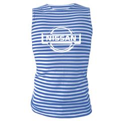 Купити Майка-тільняшка логотип Nissan