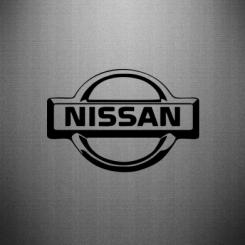Купити Наклейка логотип Nissan