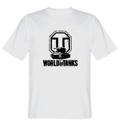 Футболка Логотип World Of Tanks