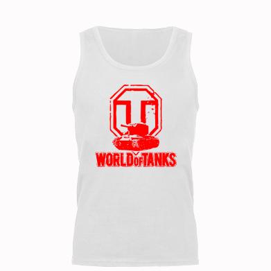 Мужская майка Логотип World Of Tanks