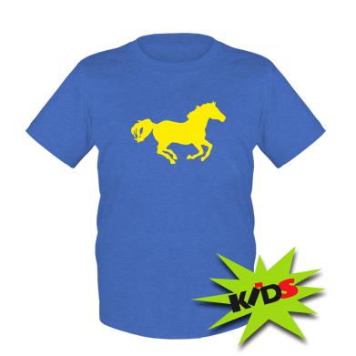 Купити Дитяча футболка Конячка
