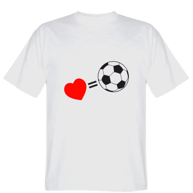 Футболка Love=Football