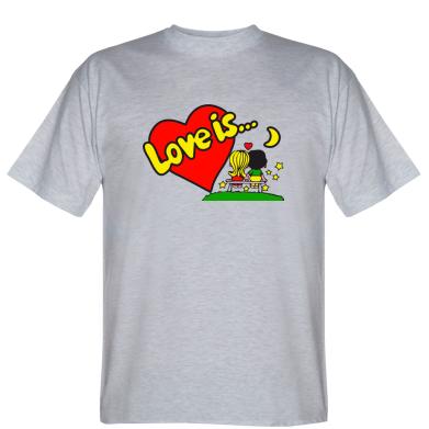 Футболка Love is...
