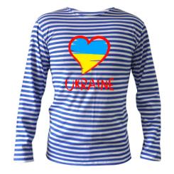 Купити Тільняшка з довгим рукавом Love Ukraine