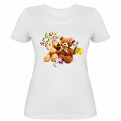 Жіноча футболка Люблю донечку