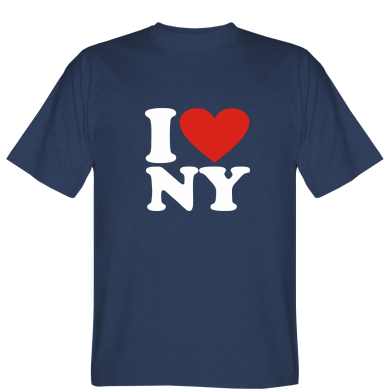 Футболка Люблю Нью Йорк