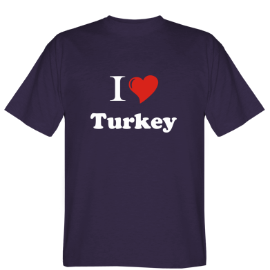 Футболка Люблю Туреччину
