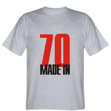Футболка Made in 70