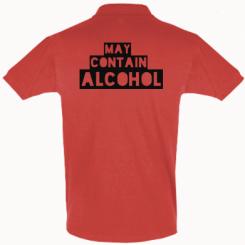 Футболка Поло May contain alcohol