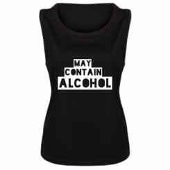 Майка жіноча May contain alcohol