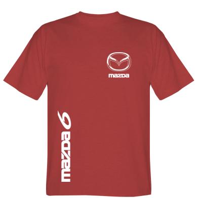 Футболка Mazda 6 vert