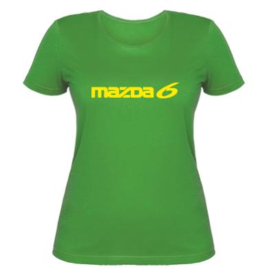 Купити Жіноча футболка Mazda 6