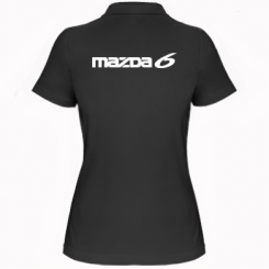 Купити Жіноча футболка поло Mazda 6
