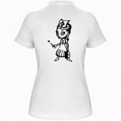 Жіноча футболка поло Медсестра
