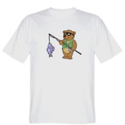 Футболка Ведмідь ловить рибу