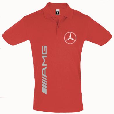 Футболка Поло Mercedes AMG