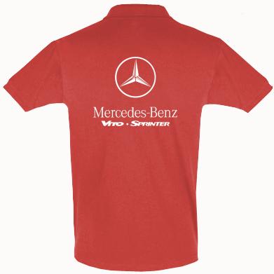 Футболка Поло Mercedes Benz