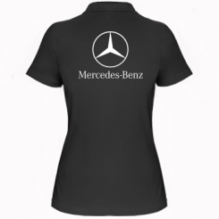 Купити Жіноча футболка поло Mercedes Benz