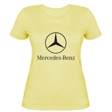 Купити Жіноча футболка Mercedes Benz