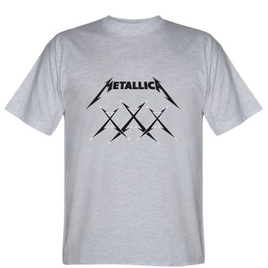Футболка Metallica XXX