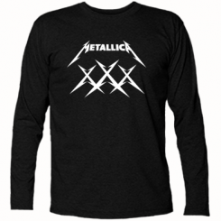 Футболка з довгим рукавом Metallica XXX