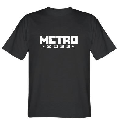 Футболка Metro 2033